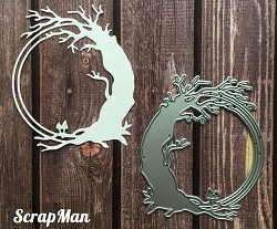 ScrapMan Dies - Old Tree Frame