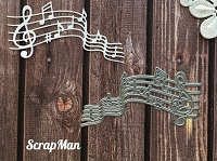 ScrapMan Dies - Music Notes