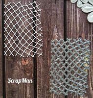 ScrapMan Dies - Fishing Net