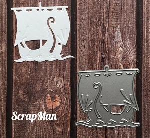 ScrapMan Dies - Viking Ship