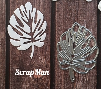 ScrapMan Dies - Monstera Leaf