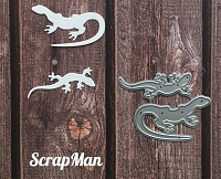 ScrapMan Dies - The Lizards