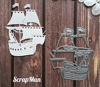ScrapMan Dies - Pirate Ship
