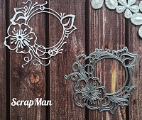 ScrapMan Dies - Frame with Flowers