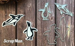 ScrapMan Dies - Penguins
