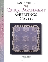 Search Press - Quick Parchment Greeting Cards by Janet Wilson