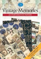 Search Press - Vintage Memories (24 Perforated Papers)