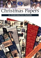 Search Press - Christmas Papers (24 Perforated Papers)