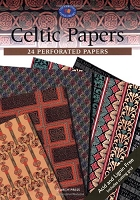Search Press - Celtic Papers (24 Perforated Papers)