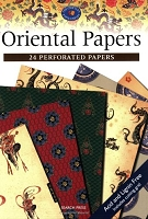Search Press - Oriental Papers (24 Perforated Papers)