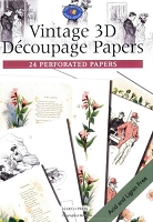 Search Press - Vintage 3D Decoupage Papers (24 Perforated Papers)