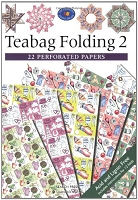 Search Press - Teabag Folding 2 (22 Perforated Papers)