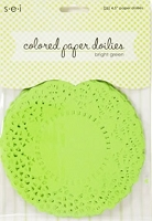 SEI - color paper doilies