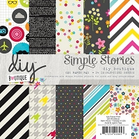 Simple Stories - DIY Boutique Collection - 6