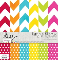 Simple Stories - DIY Boutique Collection - Simple Basics Kit