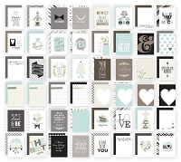 Simple Stories - Sn@p! 3x4 Cards - Wedding