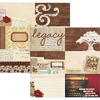 Simple Stories - Legacy Collection - 12