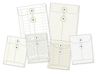 Simple Stories - DIY Foundations Envelopes - Office - 6/Pkg - (2) 4
