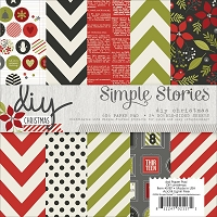 Simple Stories - 6X6 Paper Pad - DIY Christmas