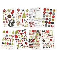 Simple Stores - DIY Christmas Stickers - Icons