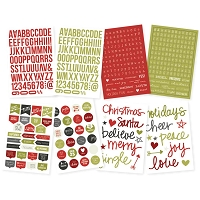 Simple Stores - DIY Christmas Stickers - Letters & Words