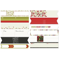 Simple Stores - DIY Christmas Stickers - Envelope Wraps