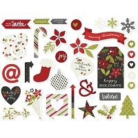 Simple Stores - DIY Christmas - Chipboard Stickers