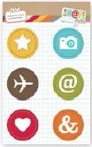 Simple Stories - Sn@p! - Flair Icon Badges