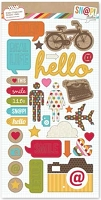 Simple Stories - Sn@p! - Chipboard Stickers