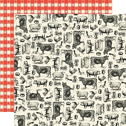 Simple Stories - Apron Strings collection - Farm To Table 12x12 cardstock