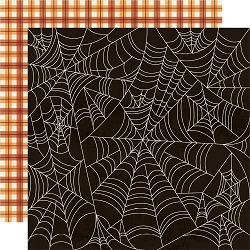 Simple Stories - Boo Crew collection - Happy Haunting 12x12 cardstock