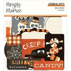 Simple Stories - Boo Crew collection Journal Bits & Pieces Die-Cuts