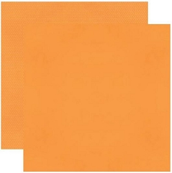 Simple Stories - Orange Color Vibe 12x12 Textured Cardstock