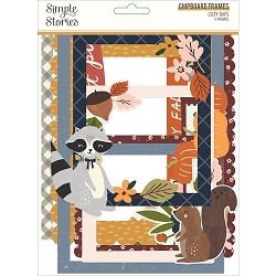 Simple Stories - Cozy Days collection Chipboard Frames
