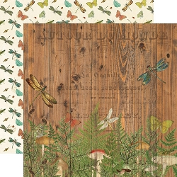 Simple Stories - Simple Vintage Great Escape collection - Time For Adventure 12x12 cardstock