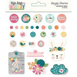 Simple Stories - Hip Hop Hooray collection Decorative Brads