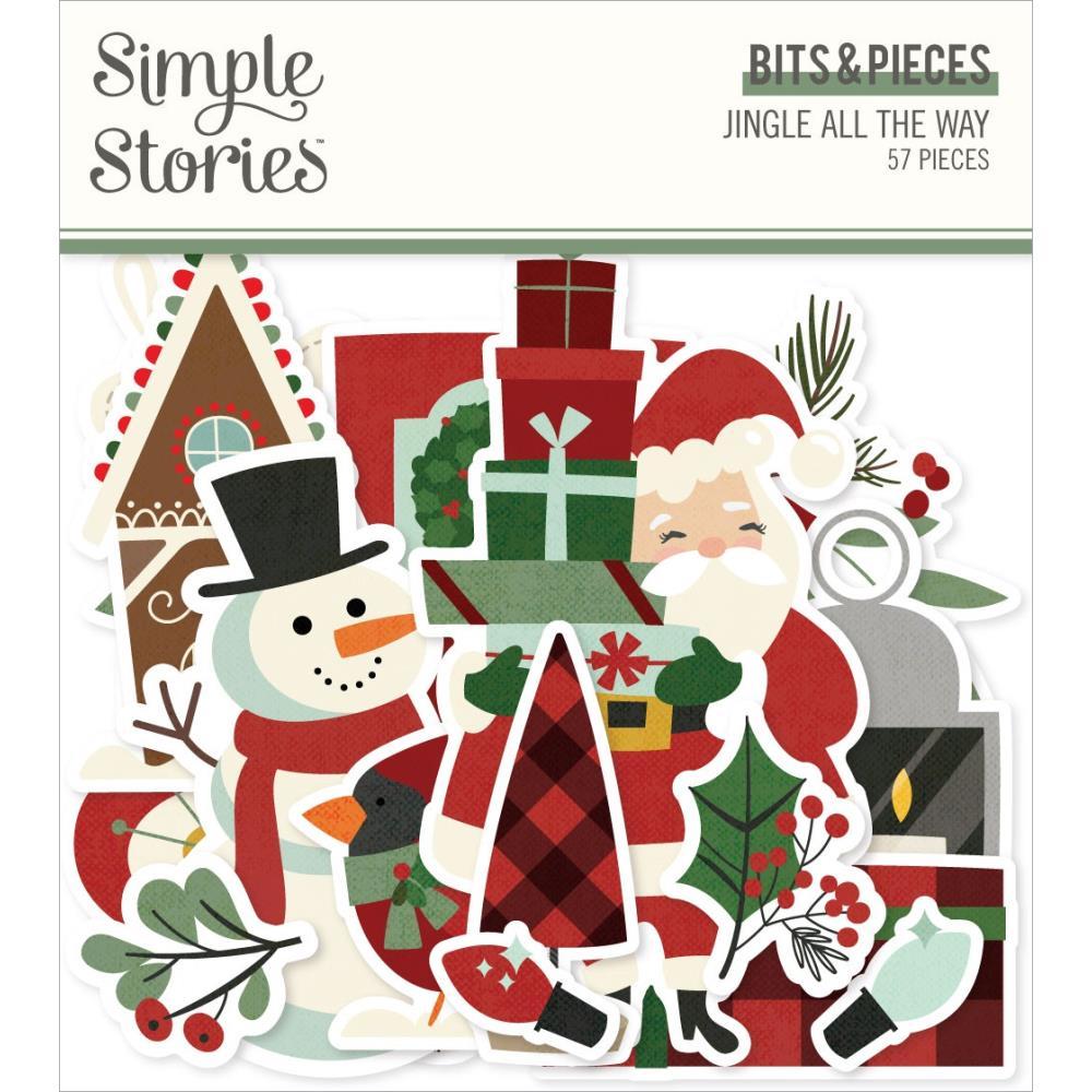 Simple Stories Simple Vintage MY VALENTINE Bits /& Pieces Die Cut Ephemera 60pc