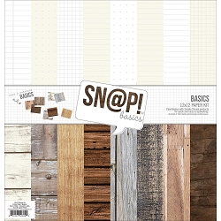 Simple Stories - Sn@p Basics Wood collection Kit