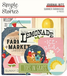 Simple Stories - Summer Farmhouse collection Journal Bits Die-Cuts