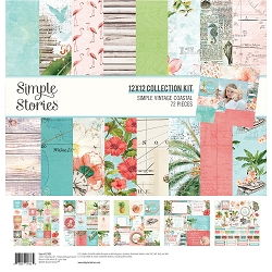 Simple Stories - Simple Vintage Coastal collection