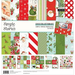 Simple Stories - Simple Vintage North Pole collection