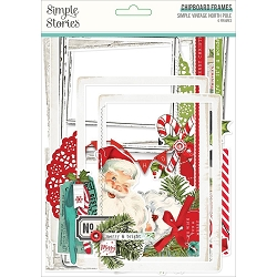 Simple Stories - Simple Vintage North Pole collection Chipboard Frames