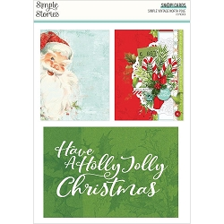 Simple Stories - Simple Vintage North Pole collection Sn@p! Cards