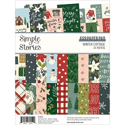 Simple Stories - Winter Cottage collection - 6