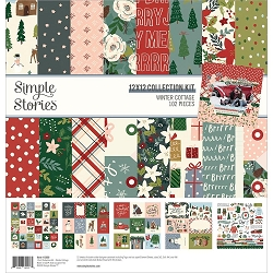 Simple Stories - Winter Cottage collection Kit