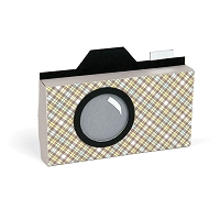 Sizzix - Bigz XL Die - Camera Box by Ki Memories