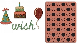 Sizzix - Sidekick Side Order Set by Tim Holtz - Birthday
