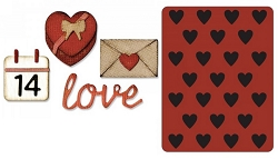 Sizzix - Sidekick Side Order Set by Tim Holtz - Valentine