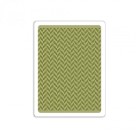 Sizzix - Textured Impressions Embossing Folder by Tim Holtz - Herringbone