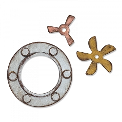 Sizzix - Bigz Die by Tim Holtz - Steampunk Parts